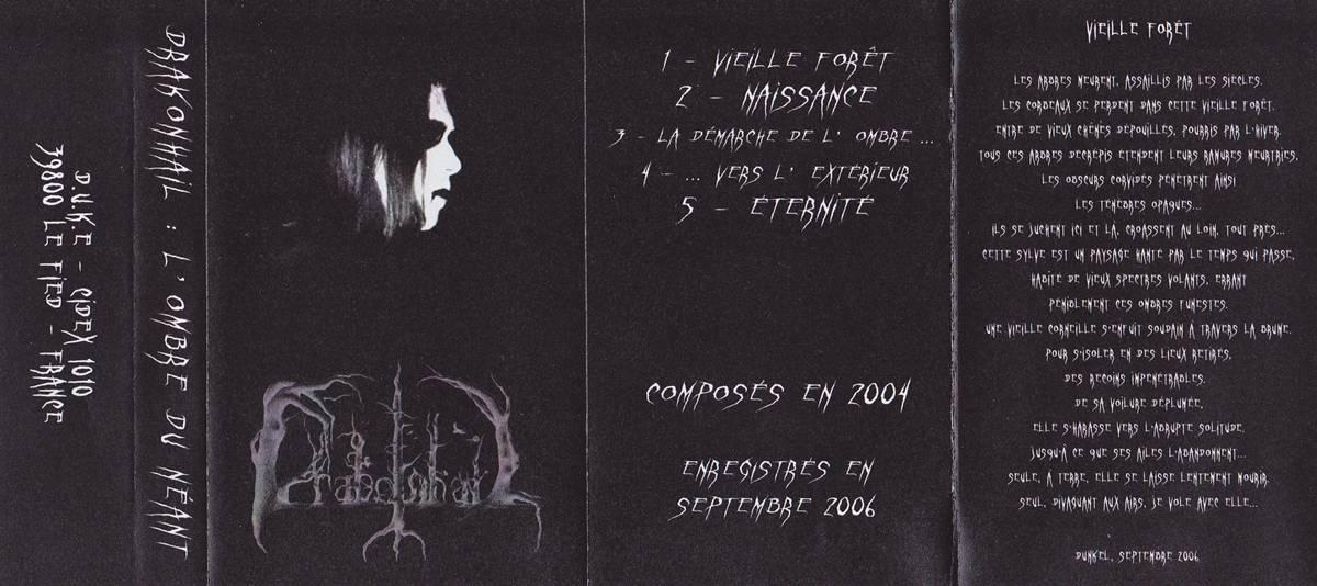 Drakonhail - L'ombre du Néant (2004) [TAPE RIP] [FLAC