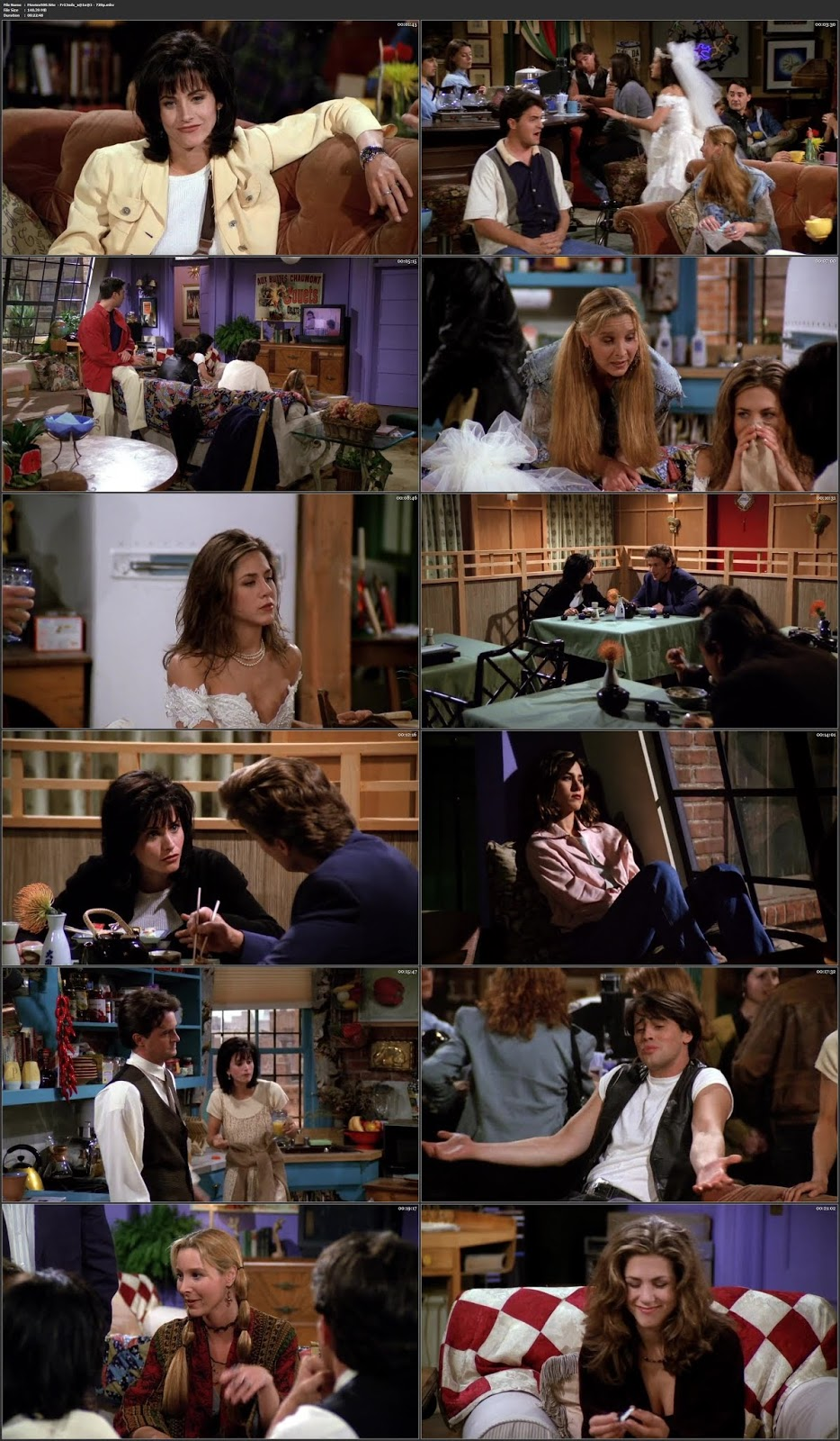 Friends Season 01 Complete English BluRay 720p