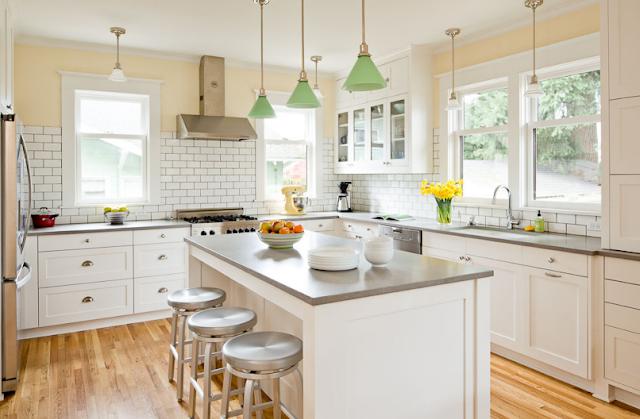 Gabar Desain interior dapur dengan konsep yang minimalis