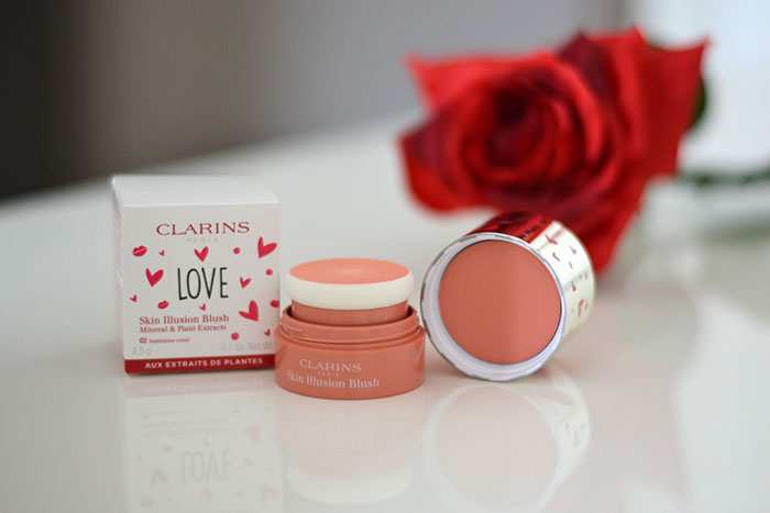 skin illusion blush clarins