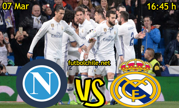 Ver stream hd youtube facebook movil android ios iphone table ipad windows mac linux resultado en vivo, online: Napoli vs Real Madrid