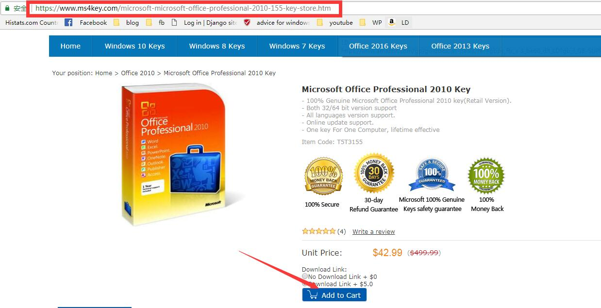 office 2010 product key cheap