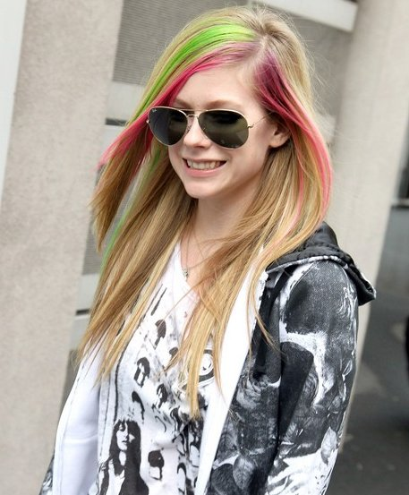 avril hair style new look book juin 2011 5753