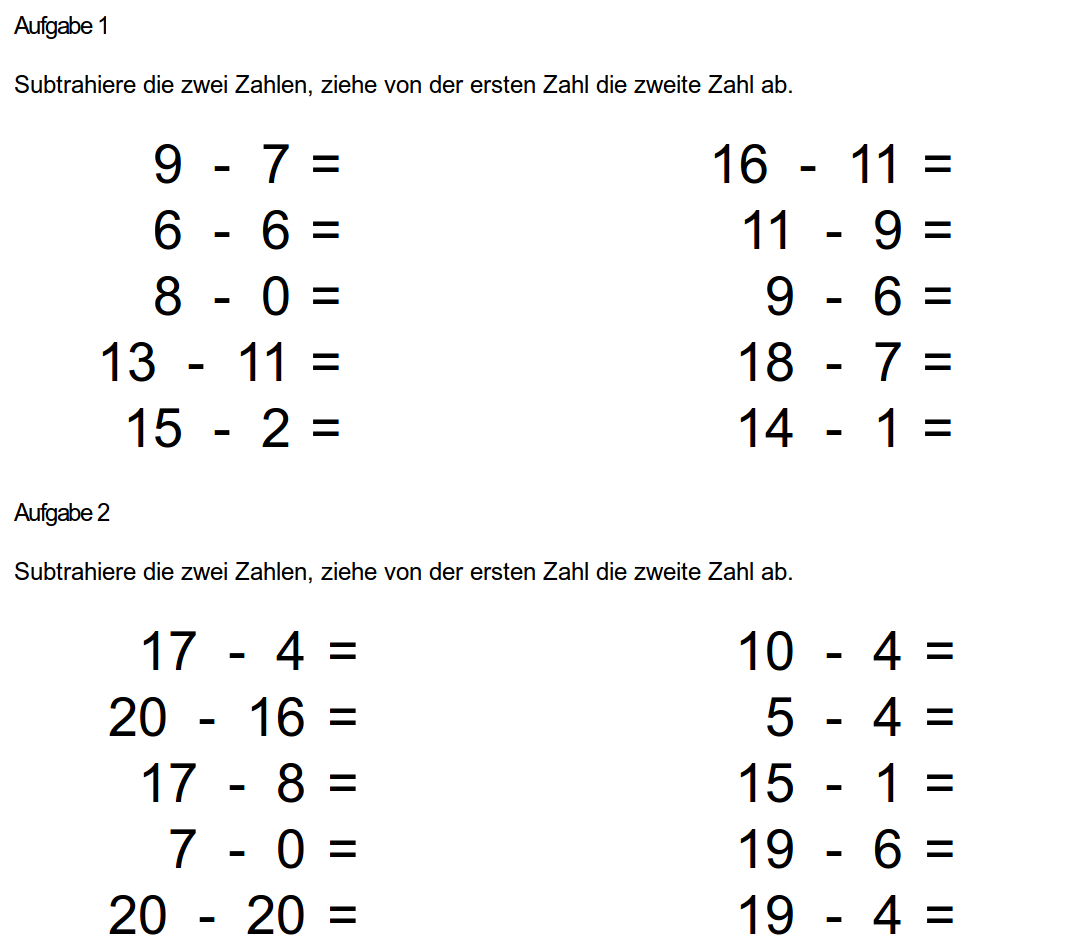 Brüche Kürzen Arbeitsblatt: Gleichungen