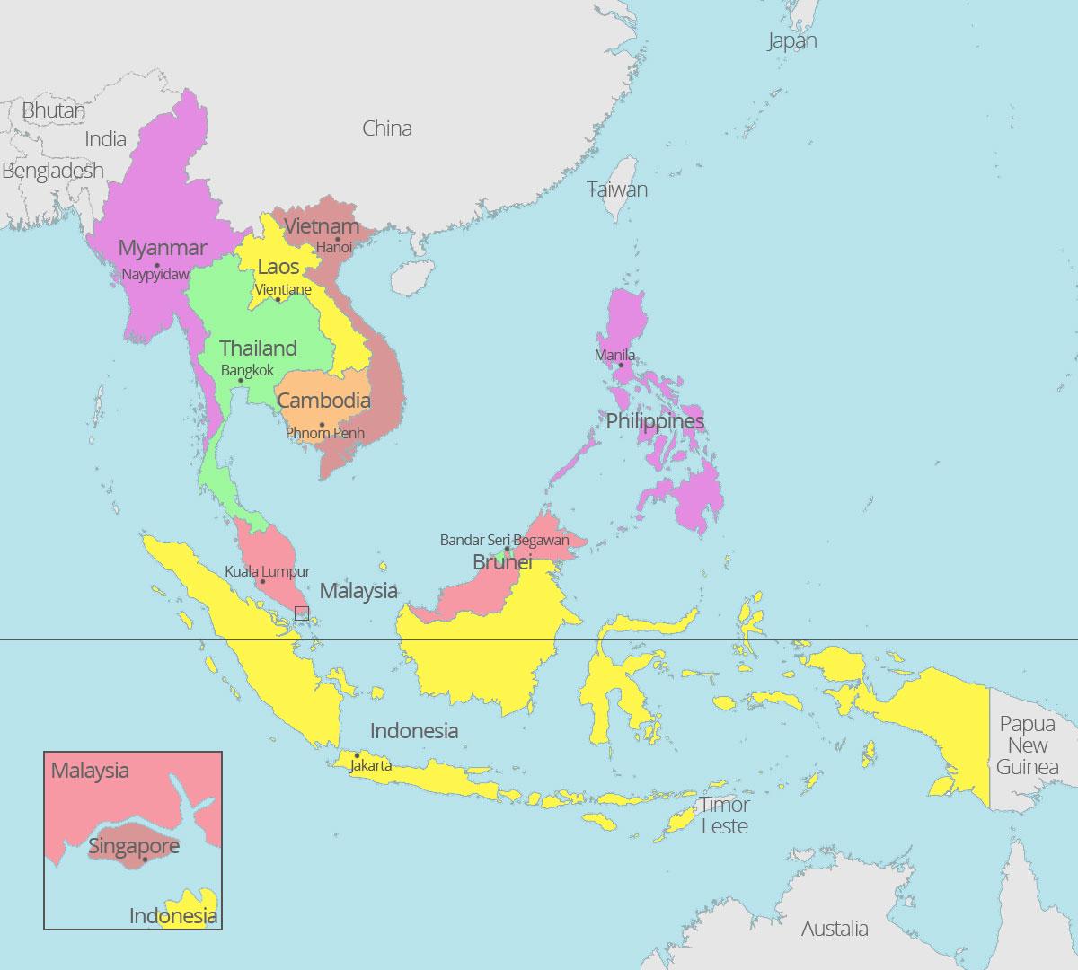 Kang Ade 2017 Asean Beranggotakan 10 Negara Indonesia Malaysia Filipina
