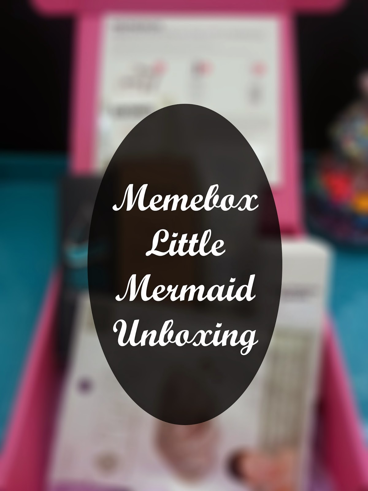 Unboxing: Memebox The Little Mermaid