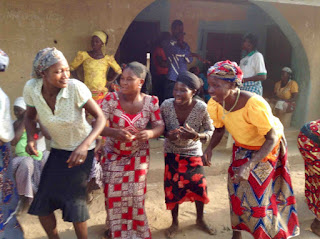 See Pictures of Nasarawa Women Jubilating And Dancing Over President Muhammad Buhari's Return.