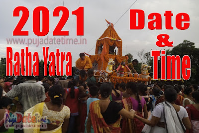 2021 Ratha Yatra Date Time