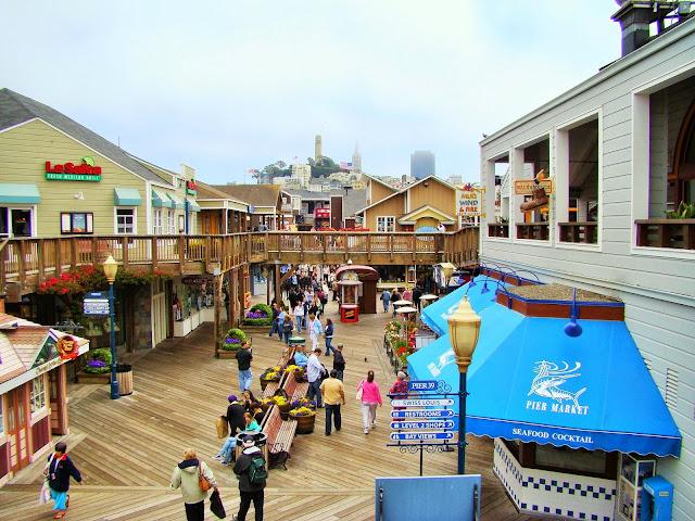 Pier 39 - San Fransisco - California - USA