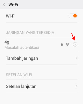 Cara Mudah Atasi Dilema Autentifikasi Wifi Di Hp Android (All Version)