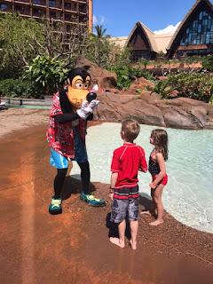 Goofy@ Disney's Aulani Hawaii Resort