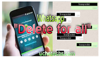 Whatsapp To Release New Feature Which Allows Users To Delete Sent Messages