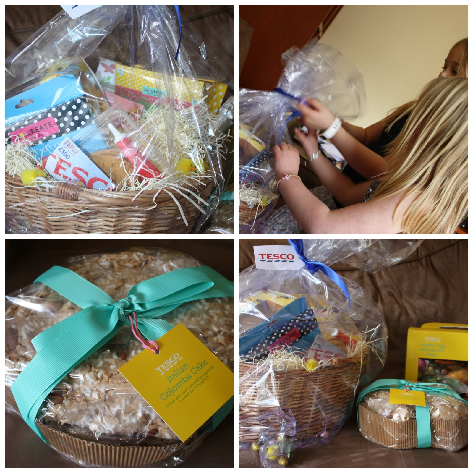 Mellow mummy tescoeaster egg hunts easter crafts and a hamper were preparing for a nice family weekend for easter with lots of treats but also a traditional lamb roast and if the weather is kind to us a barbecue negle Choice Image