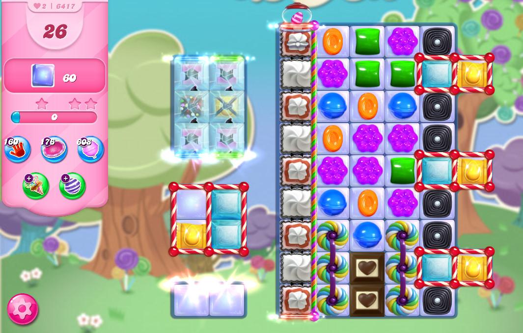 Candy Crush Saga level 6417
