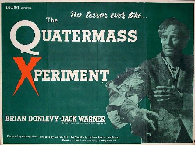 El experimento el Dr. Quatermass 1955 (poster)