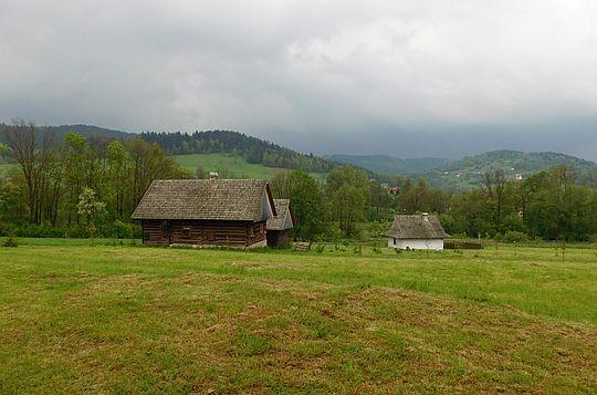 Żywiecki Park Etnograficzny w Ślemieniu.