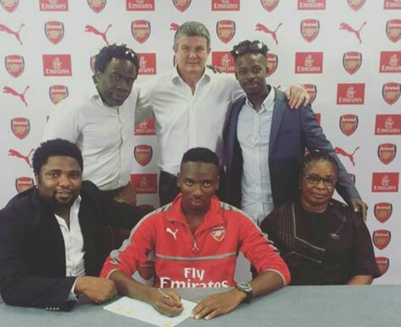 Arsenal new boy Nwakali to go on loan