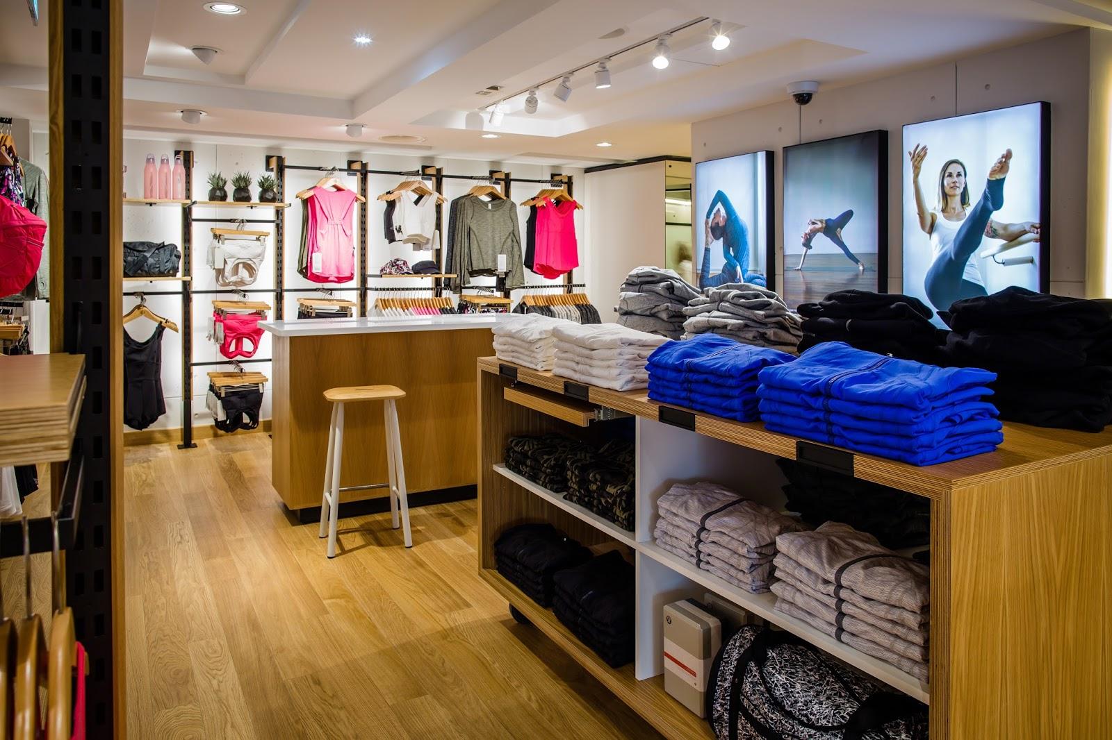 My Sweet Valentine Lululemon Opens Its First Swiss Store