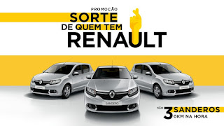 Promoção Sorte de Quem Tem Renault