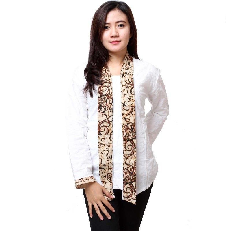 Model Baju Batik Lengan Panjang Modern: 15 Batik Kerja Modern Lengan Panjang 2019, Update!