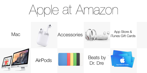 Amazon is now an Apple Authorized Reseller