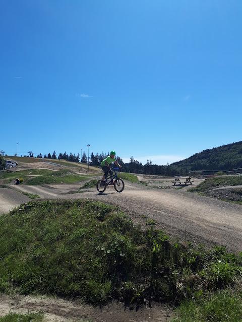 BMX circuit at Erlebnisberg Kappe, Winterberg, Sauerland, NRW