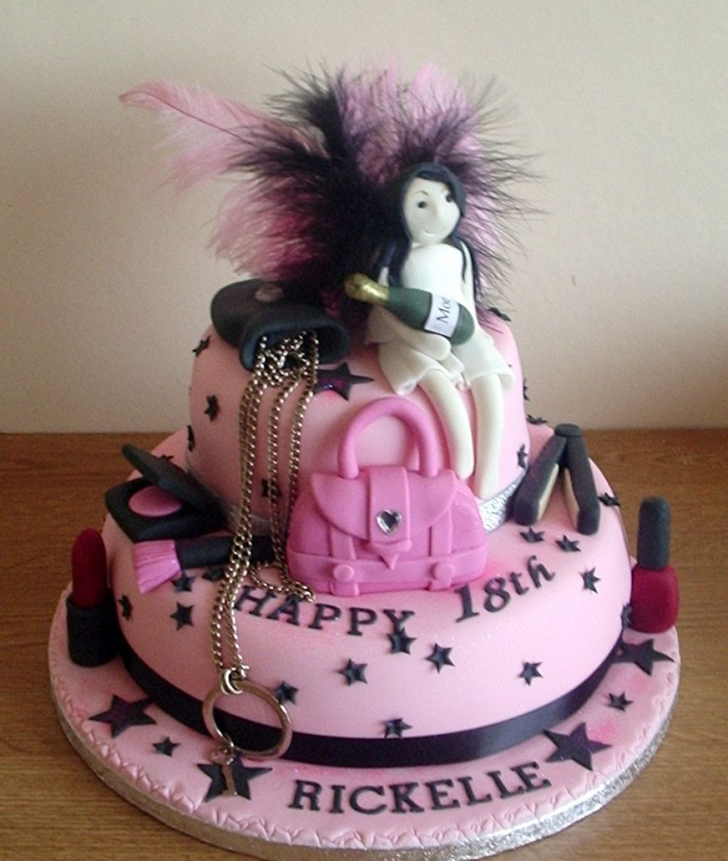18th Birthday Cakes Snow Theme Design Cake Magazine