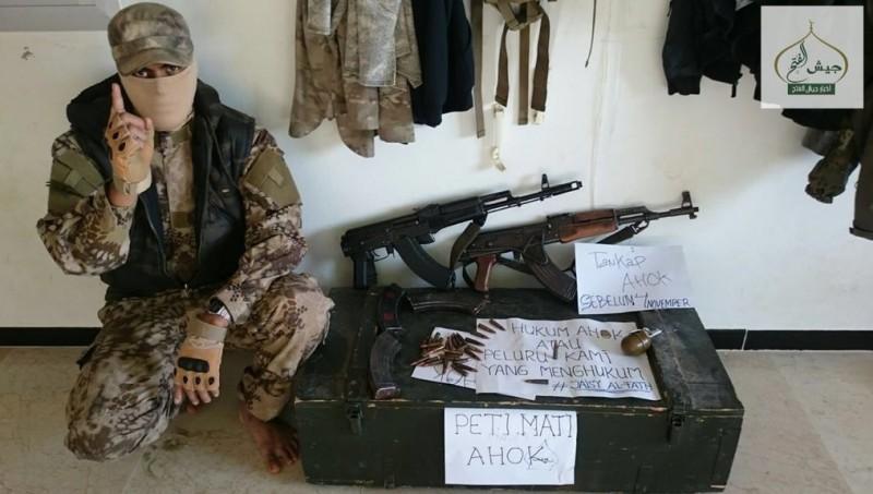 Tentara Suriah ancam Ahok