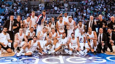 BALONCESTO - El Real Madrid se reencuentra con la Supercopa 4 años después en una reedición de la pasada final de liga con el Baskonia