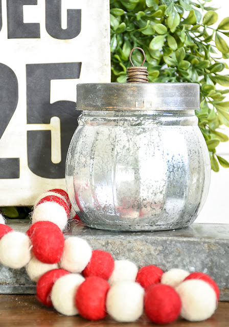 Dollar Tree, DIY Christmas Decor, ornaments, mercury glass