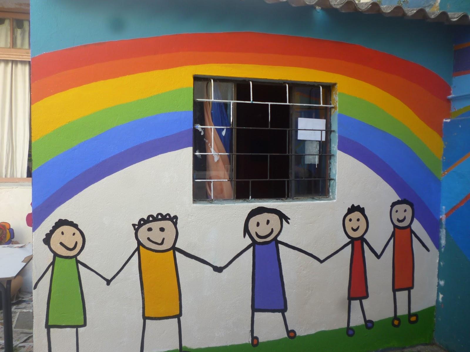 Escuela n 8 rep blica de hait for Mural nuestra carne
