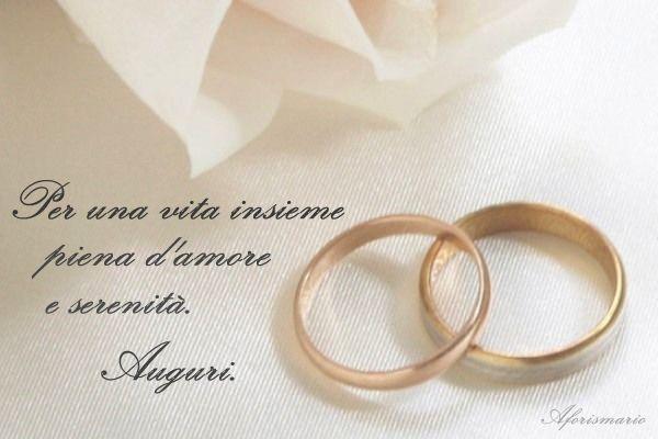 Top Aforismario®: 120 Bellissime Frasi per Auguri di Matrimonio agli Sposi YV67