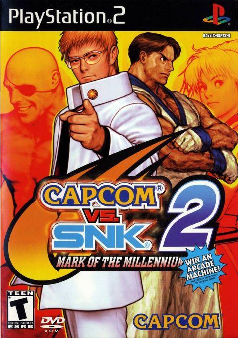 Capcom vs. SNK 2 Mark of the Millennium 2001 NTSC PS2