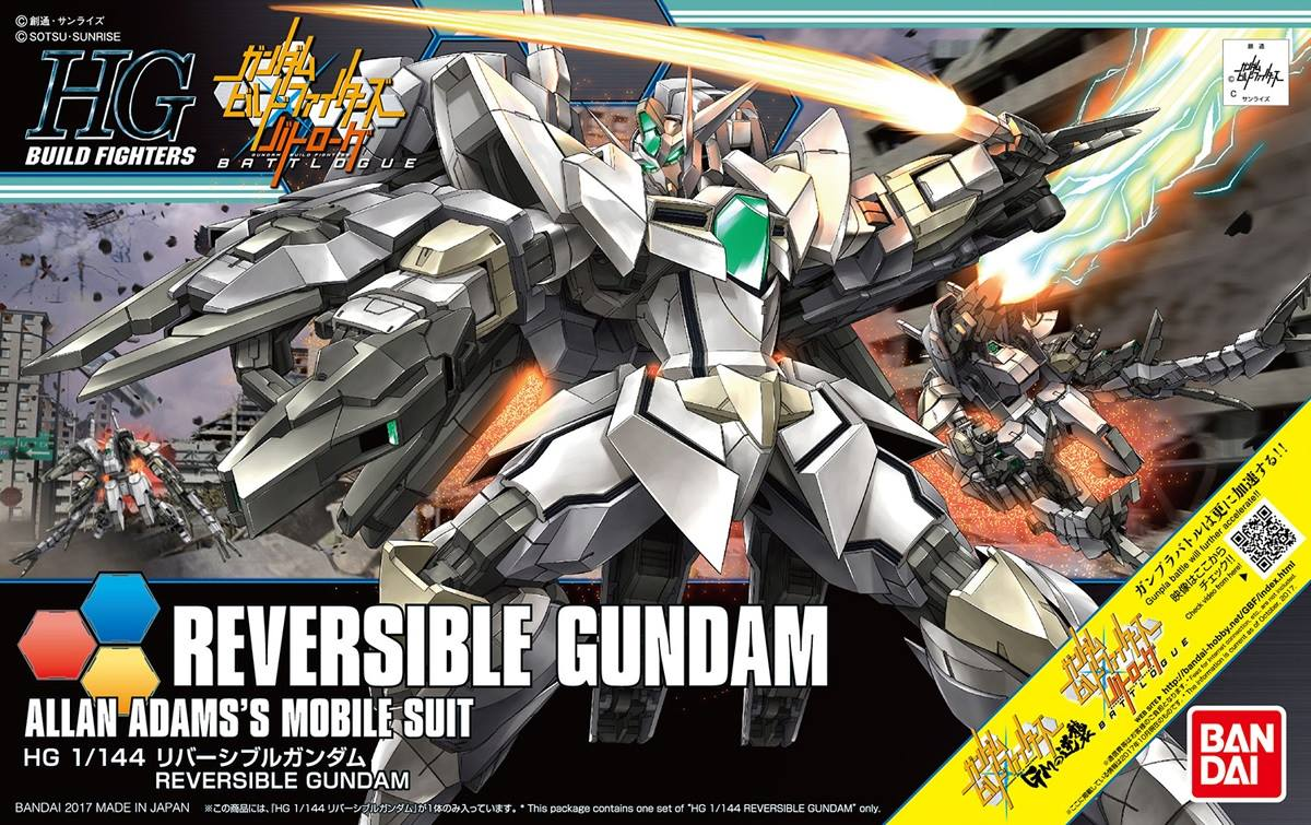 HGBF 1/144 Reversible Gundam Box art