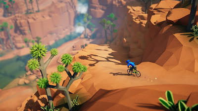 Lonely Mountains Downhill Game Screenshot 6