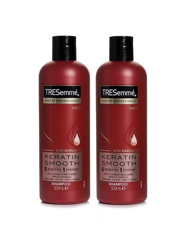 Pack of 2 Tresemme Keratin Smooth Shampoo 500 ml