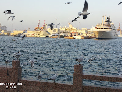 كورنيش مطرح تصوير عماد بن حسين باقر