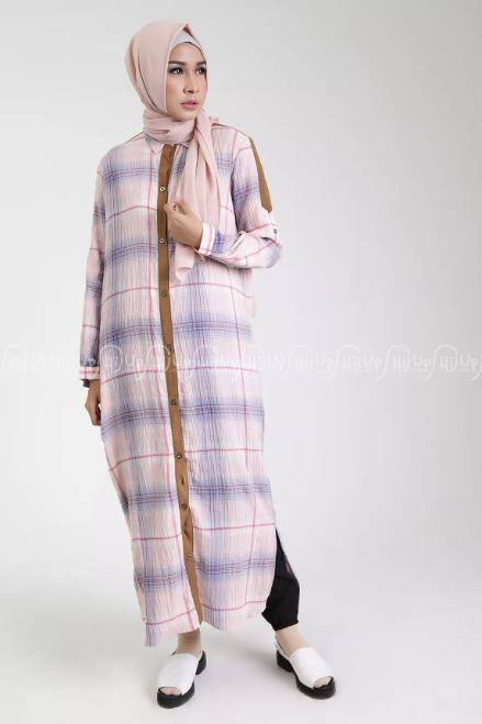 10+ Model Outer Tanpa Lengan Untuk Gamis Terbaik