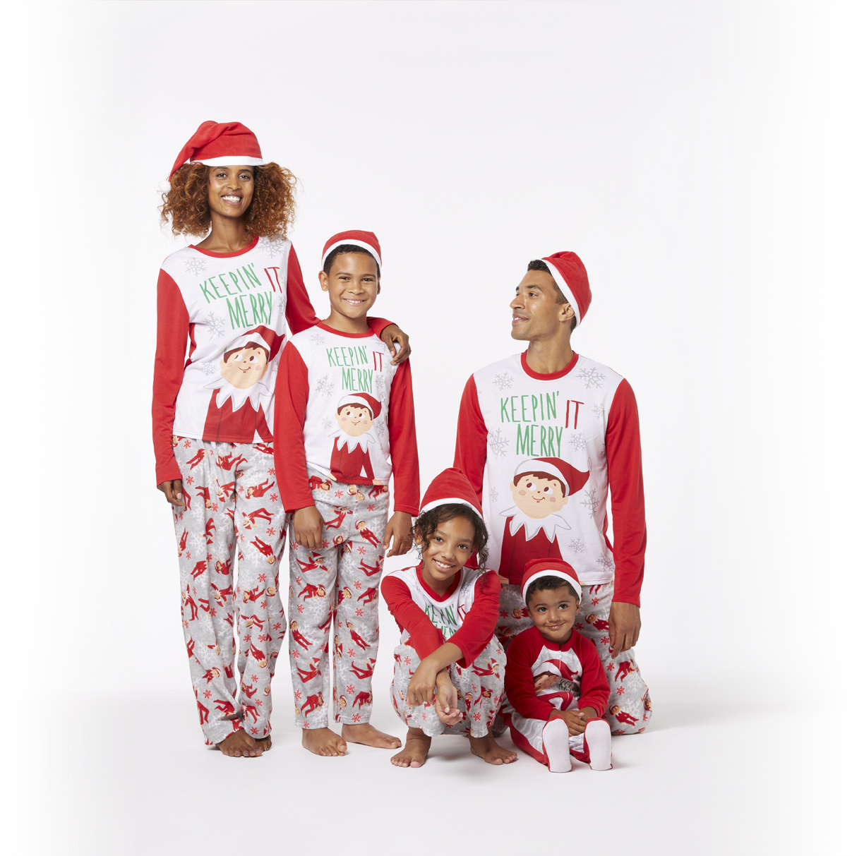 how fun would it be to deck the whole family out in matching pajamas you can get these 2 styles shown at walmart and target - Target Christmas Pjs