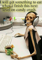 muerto por candy crush humor