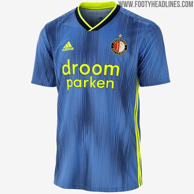 Adidas Feyenoord Rotterdam 19 20 Away Kit Released Footy Headlines