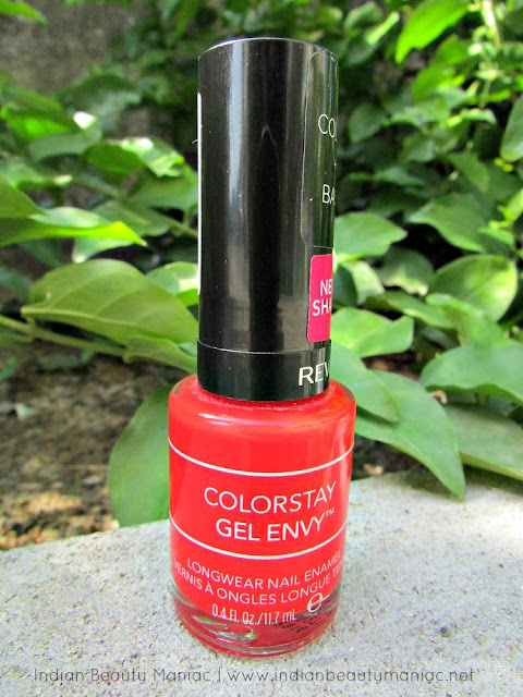 Revlon Color Stay Gel Envy in Get Lucky review, Revlon Nail Polishes, Color Stay Gel Envy, Indian Beauty Blogger