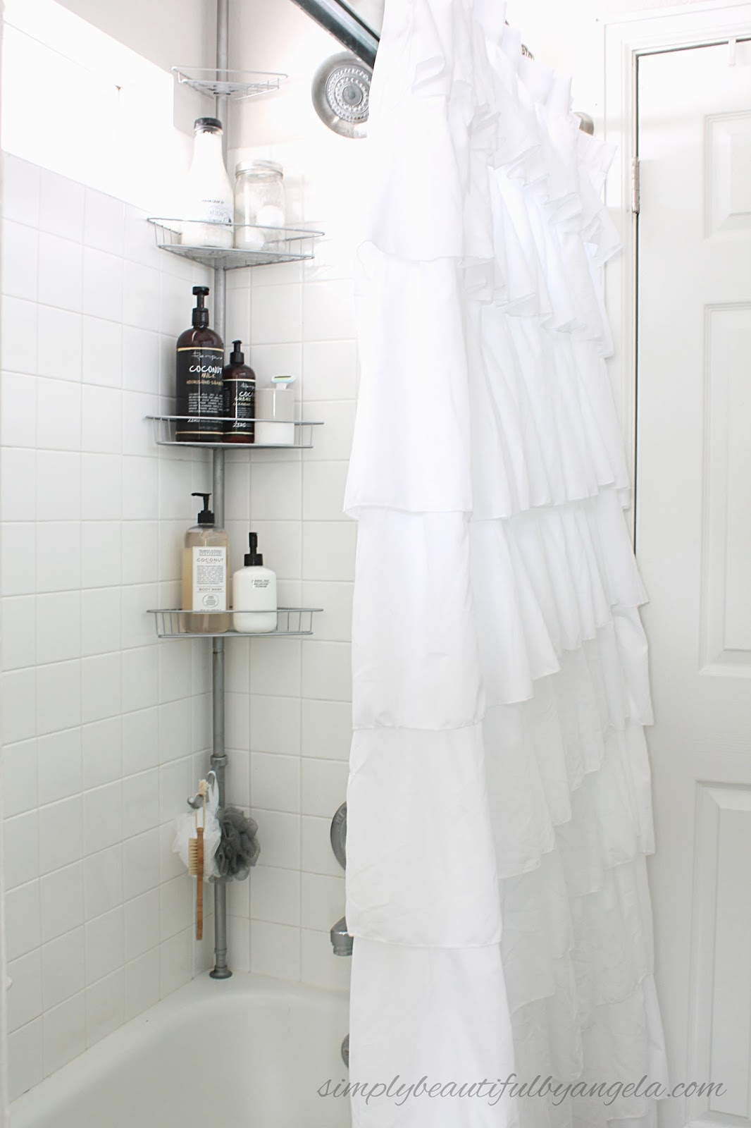 Simply Beautiful by Angela: How To Refresh A Rusted Shower Caddy