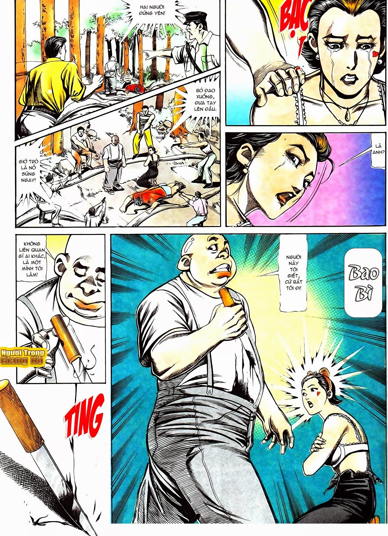 Người Trong Giang Hồ chapter 116: bình minh ló dạng ái tình tan vỡ trang 21