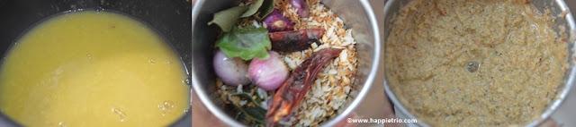 Step 5 -Kerala Style Varutaracha Sambar Recipe