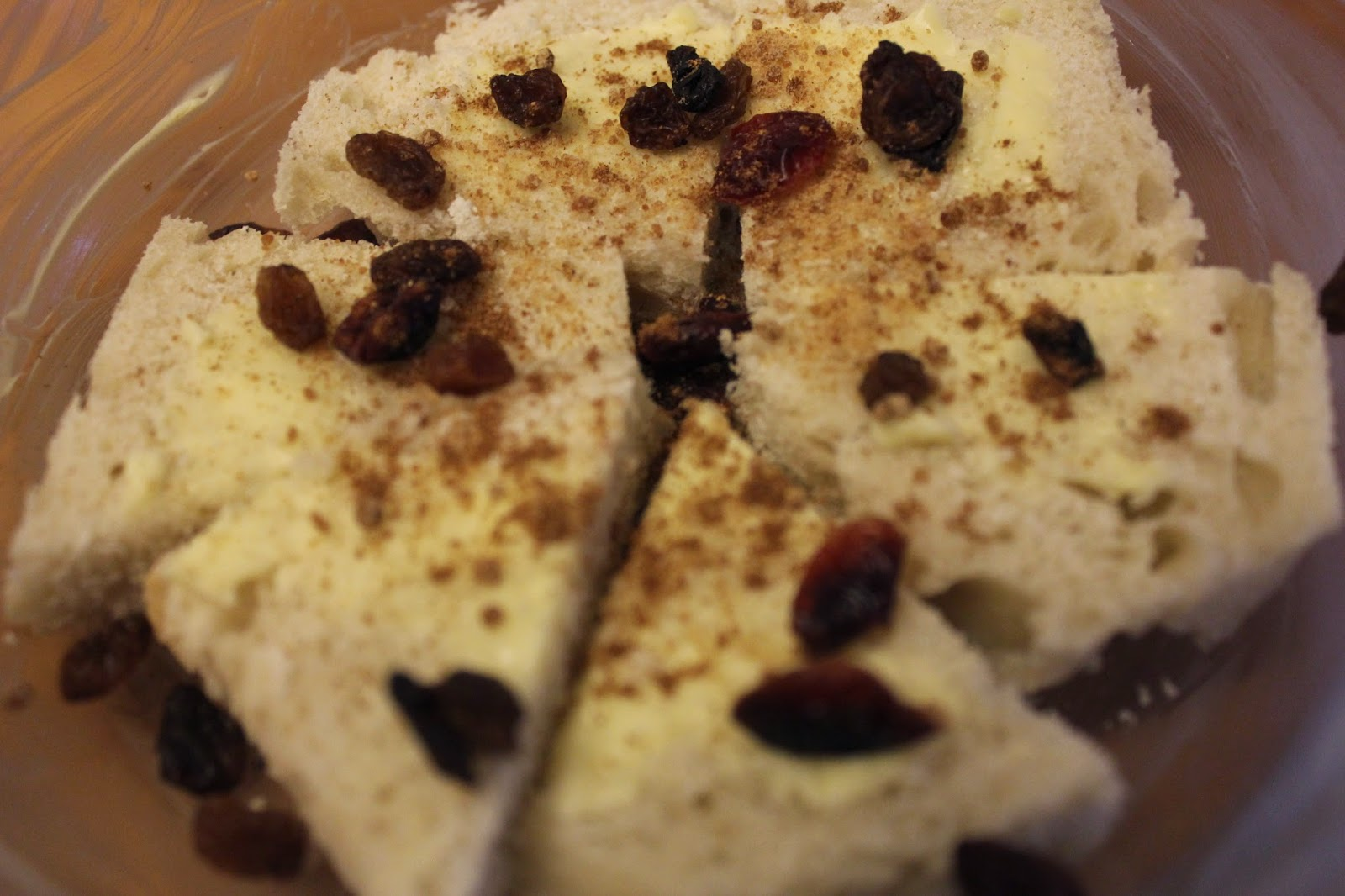 Organic bread and butter pudding recipe