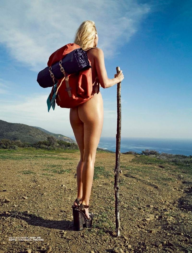 Elsa Hosk Se Desnuda Haciendo Autostopismo Para Lui Magazine Madshion