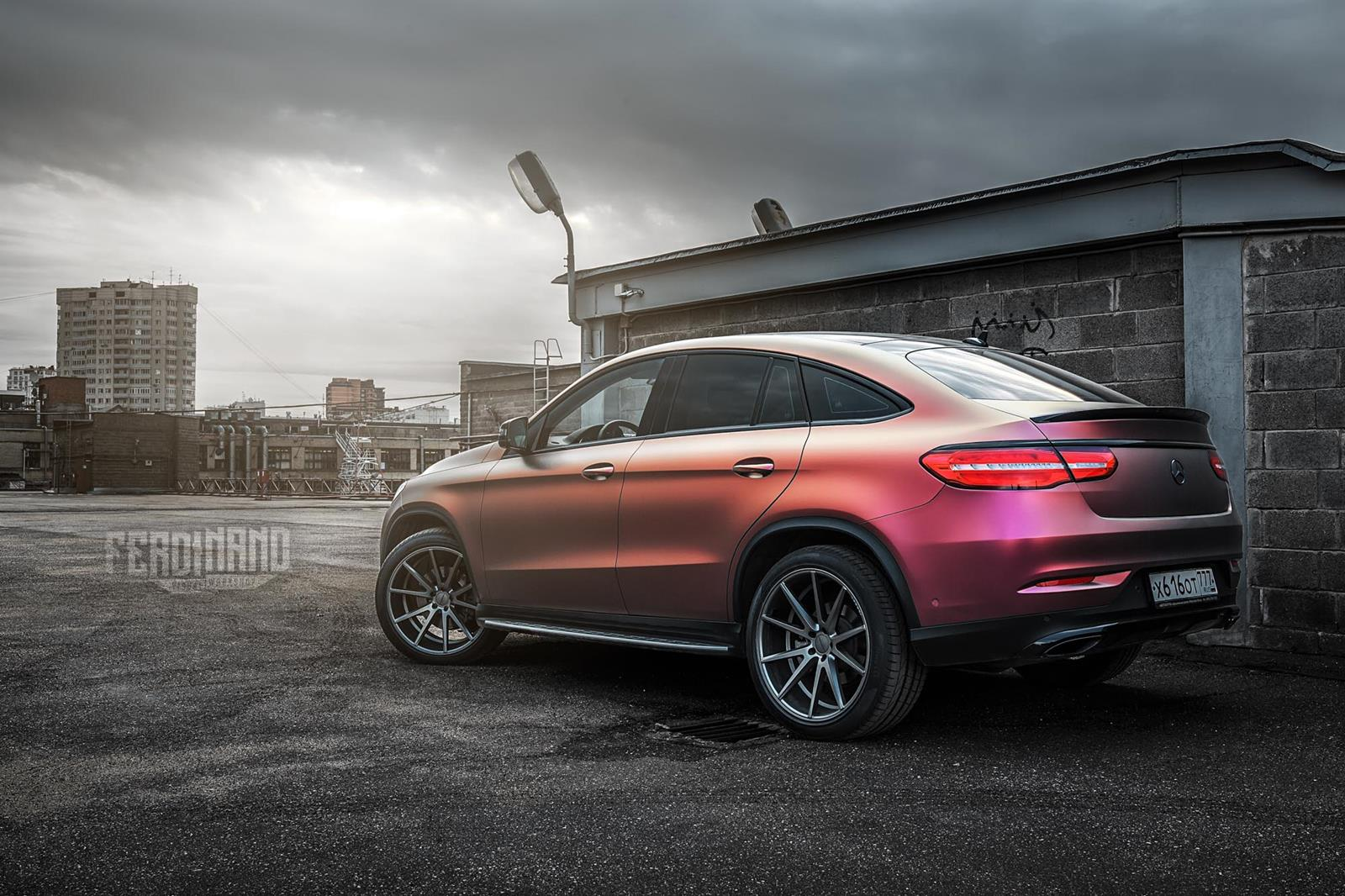 Mercedes benz w292 gle coupe vfs1 vossen wheels benztuning for Mercedes benz wheels rims
