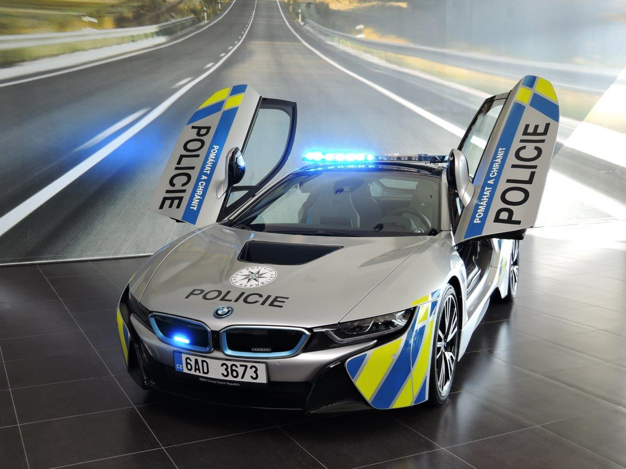 How Much Is Insurance For A New Driver >> Czech BMW i8 Police Car Crashes After Driver Suffers Medical Emergency   Carscoops