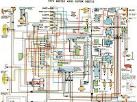 1972 Volkswagen Wiring Diagram